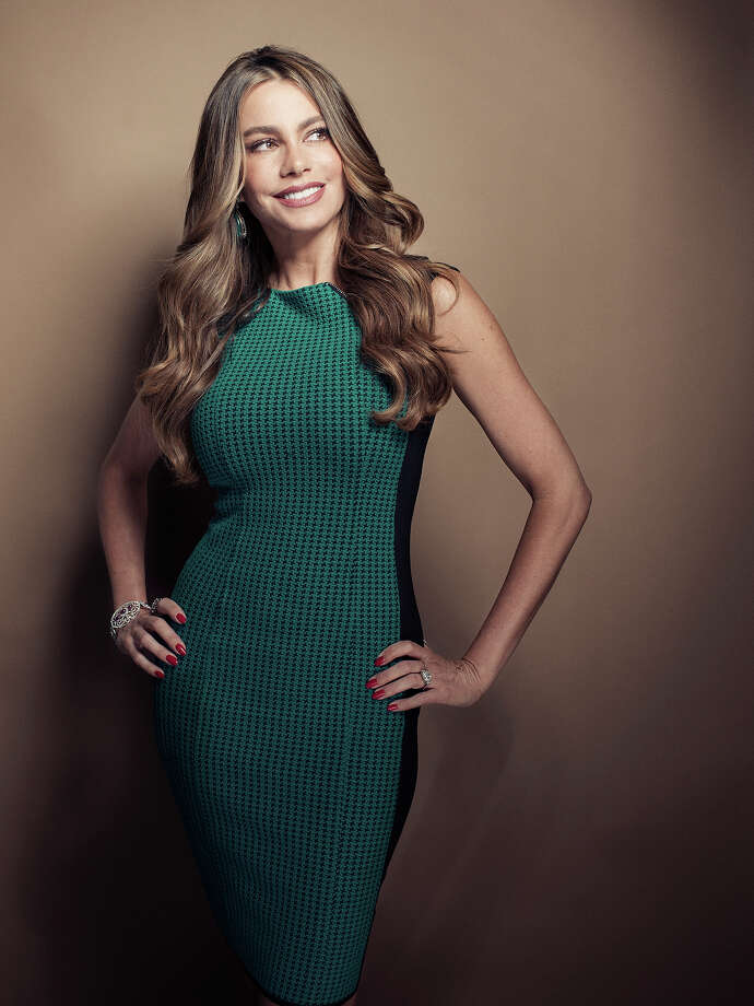 Columbian actress Sofia Vergara poses for a portrait, on Wednesday, April 17, 2013 in New York. Vergara is currently on hiatus from ìModern Family,î but has several films coming out , including a starring role in the Robert Rodriguez thriller, ìMachete Kills. Photo: Victoria Will, Victoria Will/Invision/AP / THE ASSOCIATED PRESS2013