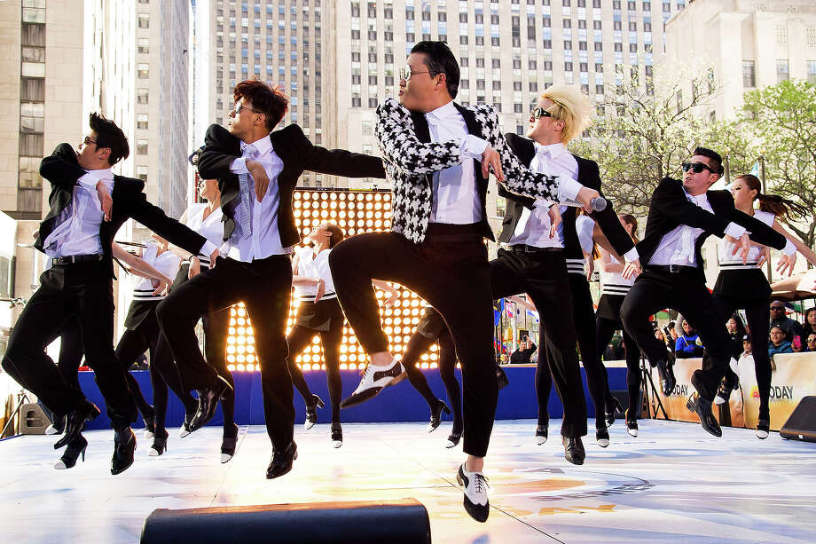 "Psy performs on NBC's ""Today"" show on Friday, May 3, 2013 in New York. Photo: Charles Sykes, Charles Sykes/Invision/AP / AP2013"