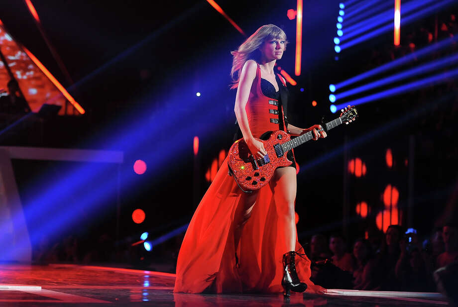 Taylor Swift performs at the 2013 CMT Music Awards at Bridgestone Arena on Wednesday, June 5, 2013, in Nashville. Photo: Frank Micelotta, Frank Micelotta/Invision/AP / AP2013