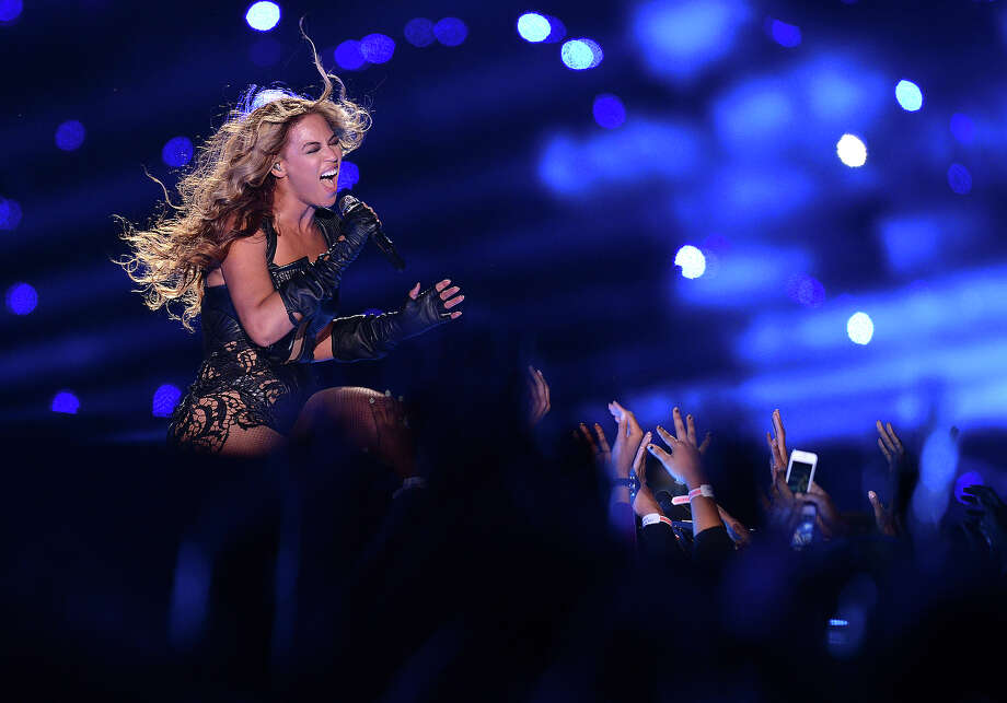Recording artist Beyonce performs at Super Bowl XLVII on Sunday, Feb. 3, 2013 in New Orleans. Photo: Jordan Strauss, Jordan Strauss/Invision/AP / Invision2013