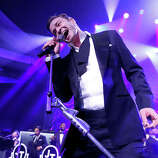 Justin Timberlake performs at his Post Grammy Concert at the Palladium, Sunday, Feb. 10, 2013, in Los Angeles.