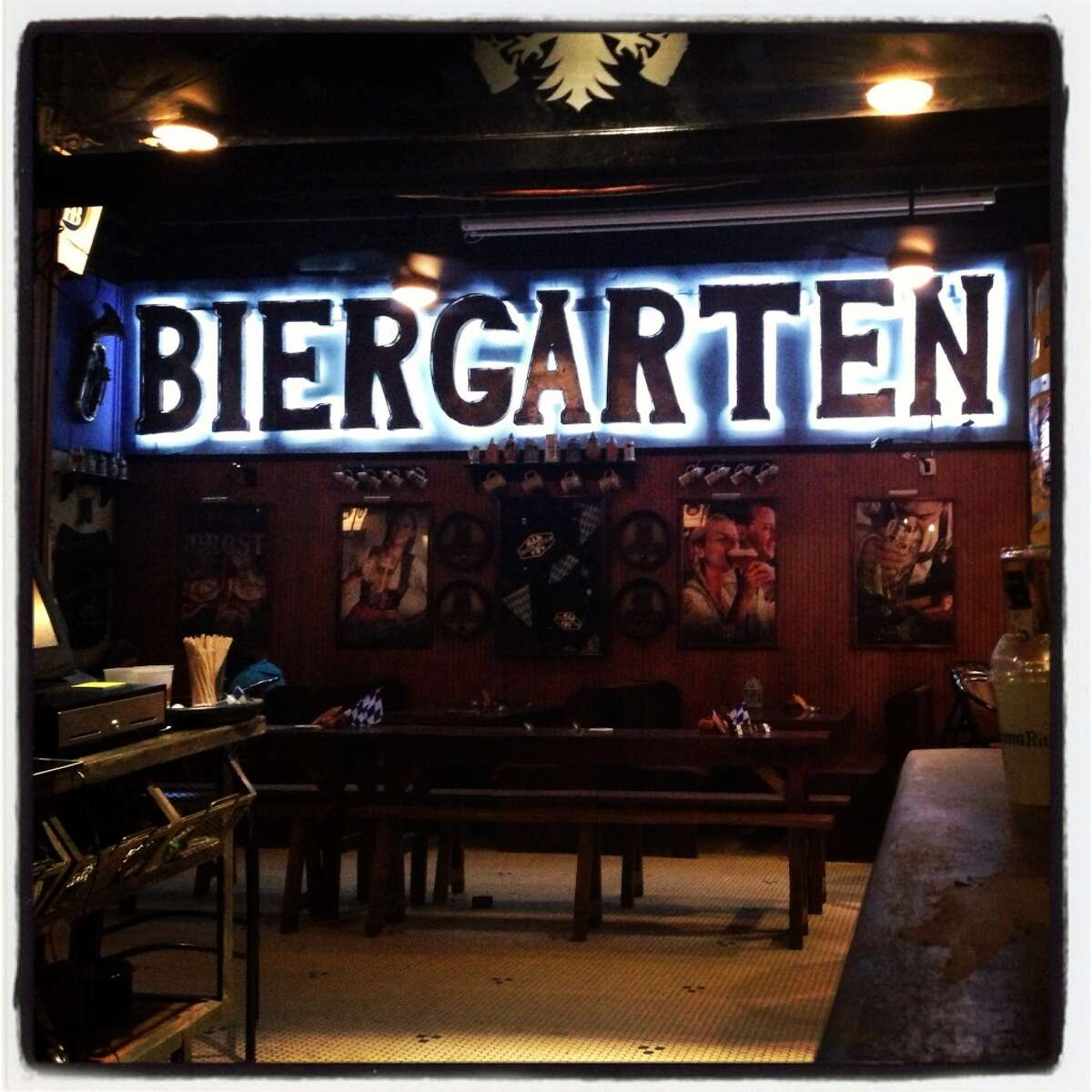 Biergarten, 126 Losoya St., will feature $5 green beer and green margaritas from Friday until Sunday. Find out more info here.
