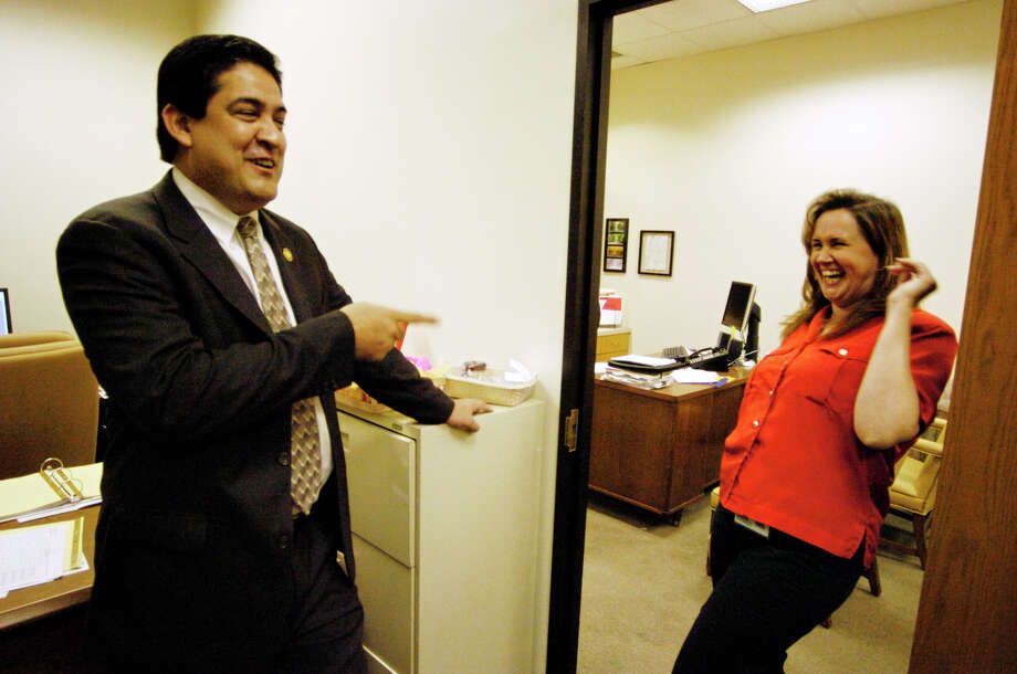 Bexar County's economic development program, managed by David Marquez (left), appears to lack focus and have little regard for taxpayers.  Photo: Express-News File Photo / © San Antonio Express-News