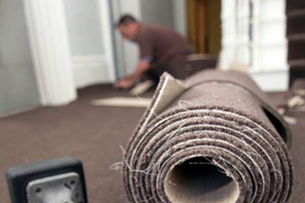 $14.97 - Carpet Installers    Source:  U.S. Bureau of Labor Statistics.  Numbers reflect median hourly wage for workers in Houston-Sugar Land-Baytown metro area, as of May 2012.