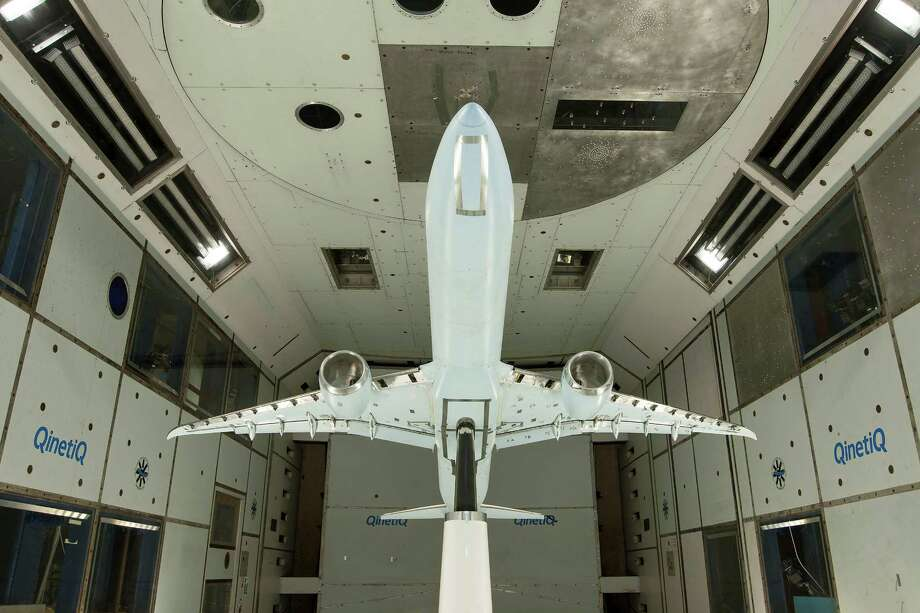 Boeing conducts wind-tunnel testing for the planned 777X at QinetiQ Farnborough, U.K. Photo: The Boeing Co. / Copyright © 2013 Boeing. All Rights Reserved.