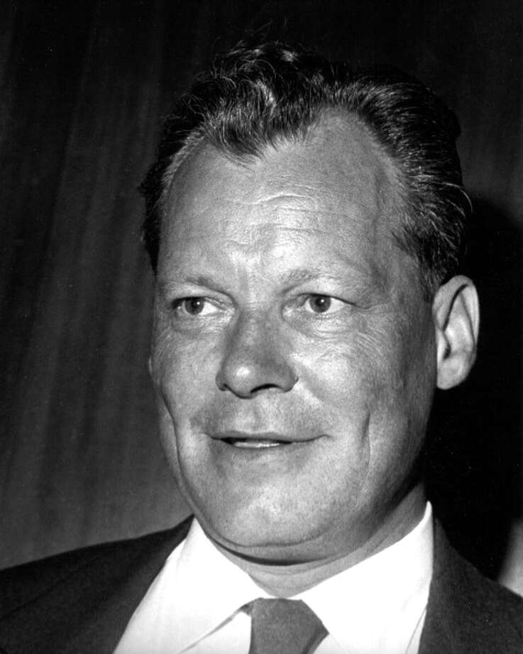 Chancellor Willy Brandt was awarded the Nobel Peace Prize in 1971 for his efforts to keep East and West Germany peaceful. Photo: Fred Stein Archive, Getty / Archive Photos