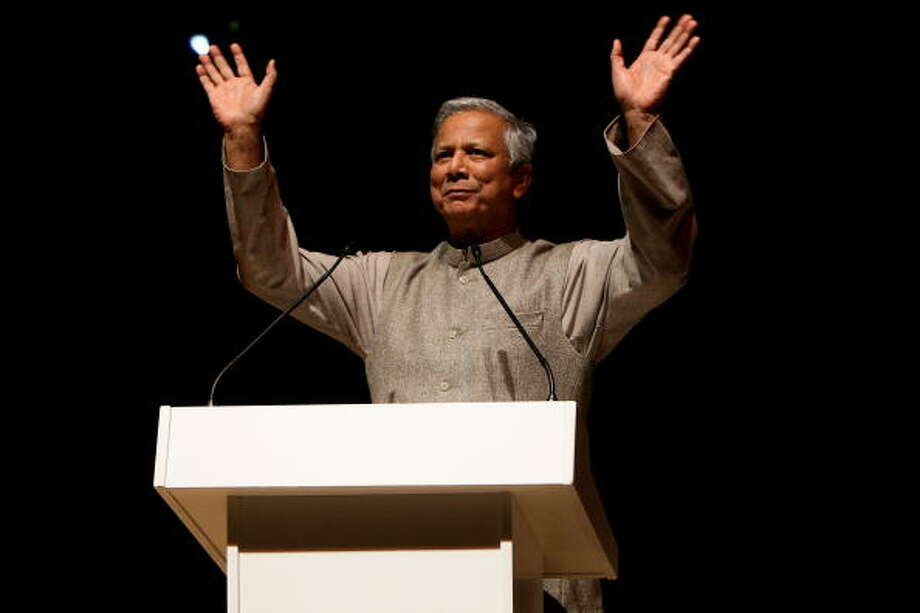 Muhammad Yunus was awarded the Nobel Peace Prize in 2006 for his efforts to create economic and social development. Photo: Vittorio Zunino Celotto, Getty / 2010 Getty Images