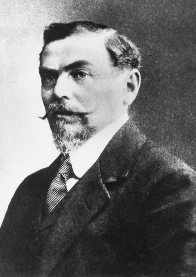 """Alfred Hermann Fried was awarded the Nobel Peace Prize in 1911 for being the founder of the German Peace Society. Tobias Asser was jointed honored""""[For being a] member of the Court of Arbitration as well as the initiator of the Conferences on International Private Law."""" Photo: Imagno, Getty / Imagno/Austrian Archives"""