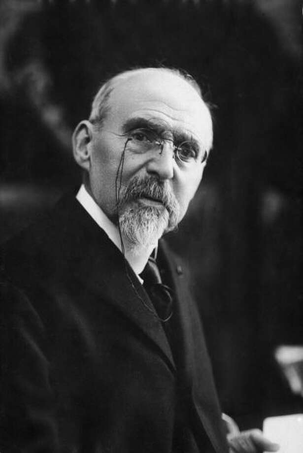 Ferdinand Buisson was awarded the Nobel Peace Prize in 1927 for working on the Franco-German reconciliation. Photo: Hulton Archive, Getty / 2004 Getty Images