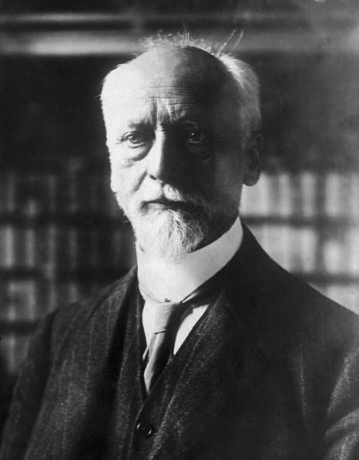 Ludwig Quidde was awarded the Nobel Prize for Peace in 1927 for working on the Franco-German reconciliation. Photo: Hulton Archive, Getty / 2004 Getty Images