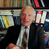 Joseph Rotblat was awarded the Nobel Peace Prize in 1995 for his efforts to rid the part played by nuclear arms in international politics.