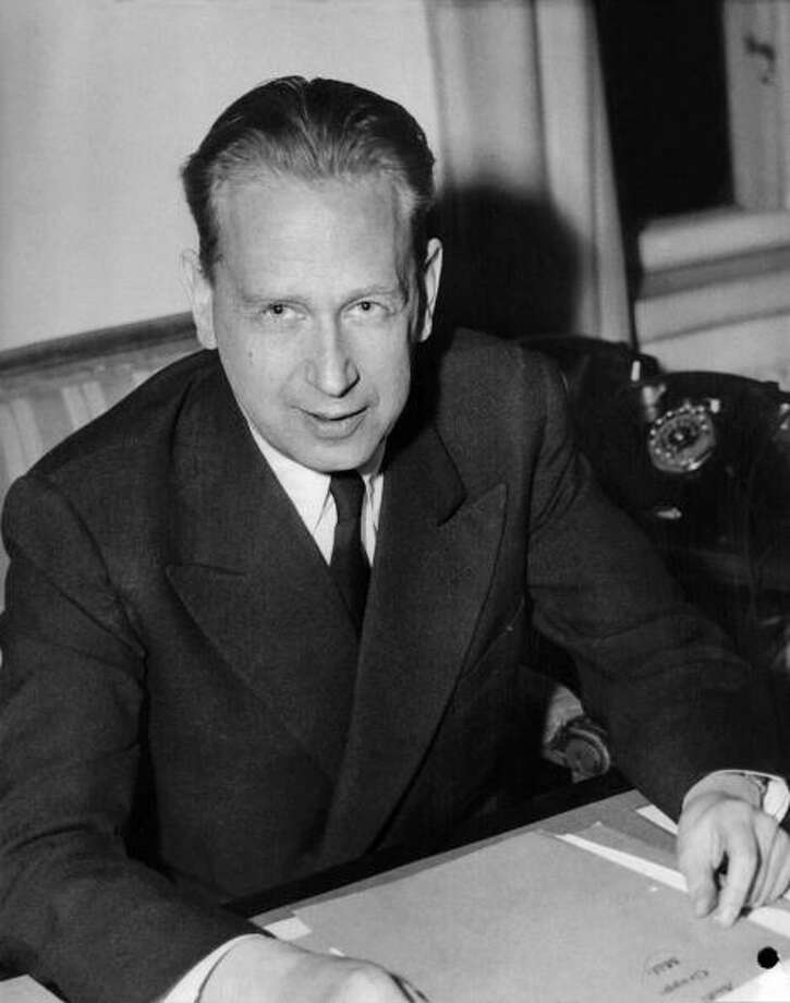 Dag Hammarskjold was awarded the Nobel Peace Prize in 1961 for strengthening the United Nations. Photo: -, Getty / AFP