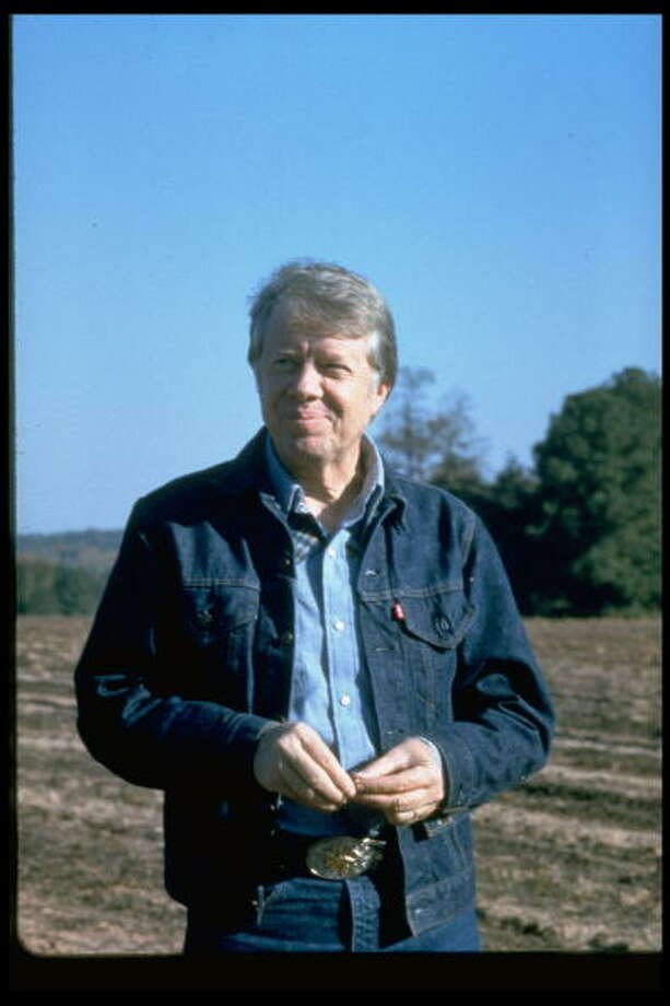 President Jimmy Carter was awarded the Nobel Peace Prize in 2002 for decades of effort to find peaceful solutions to international conflicts. Photo: Owen Franken, Getty / Owen Franken