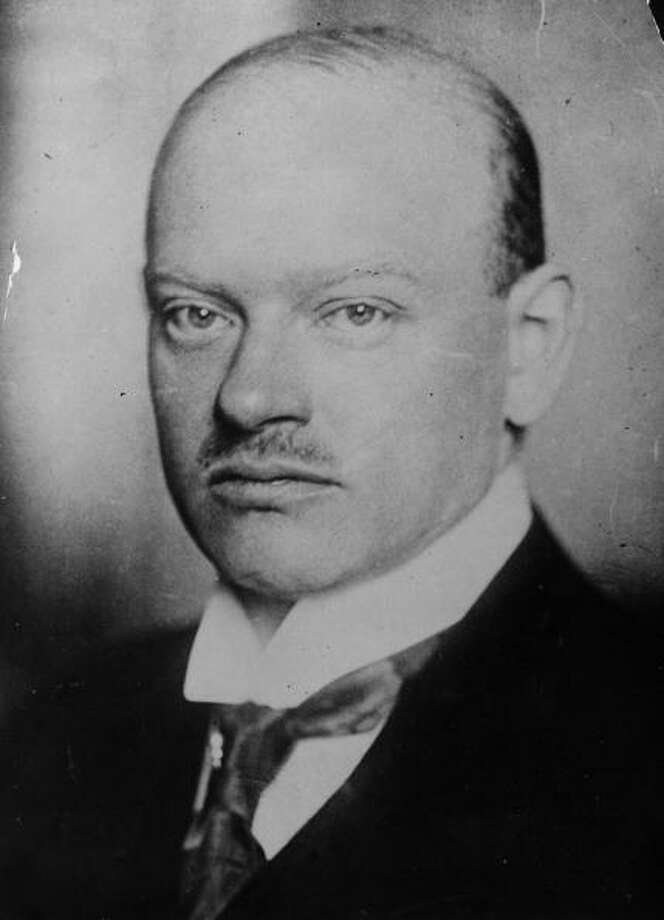 Gustav Stresemann was awarded the Nobel Peace Prize in 1926 for his work on the Locarno Treaties. Photo: General Photographic Agency, Getty / Hulton Archive