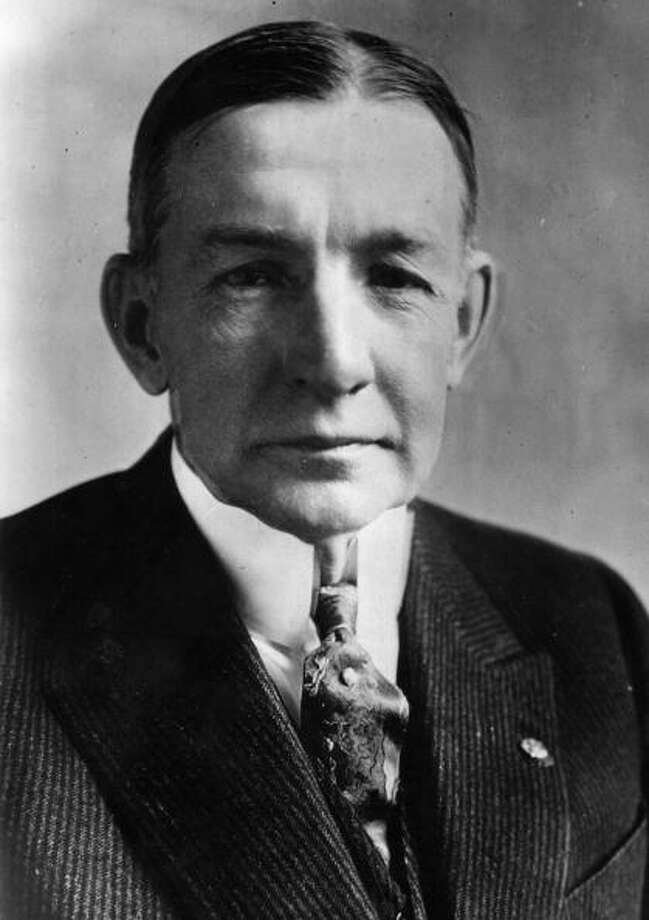 Charles Gates Dawes was awarded the Nobel Peace Prize in 1925 for his work on the Dawes Plan of German Reparations. Photo: General Photographic Agency, Getty / Hulton Archive