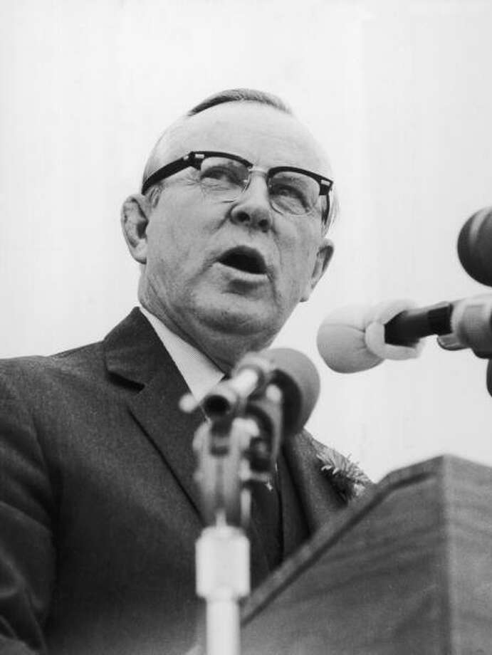 Lester Bowles Pearson was awarded the Nobel Peace Prize in 1957 for his role in trying to end the Suez conflict. Photo: Fox Photos, Getty / Hulton Archive