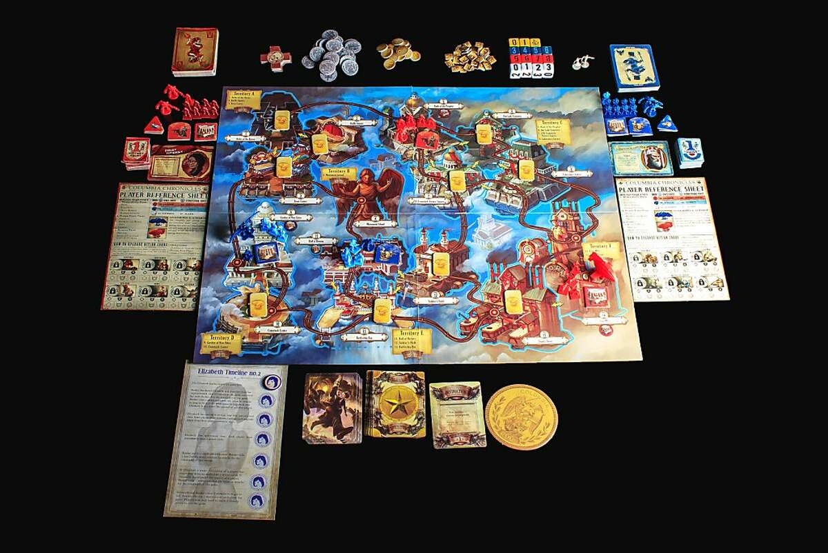 BioShock Infinite: The Siege of Columbia is a board game adaptation of this year's video game hit from 2K Games and Irrational Games, BioShock Infinite.