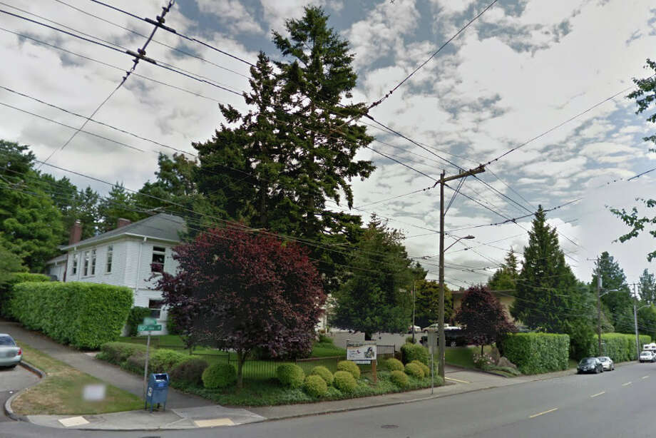The Seattle Children's Home site, as seen from 10th Avenue West and West McGraw Street Photo: Google Street View