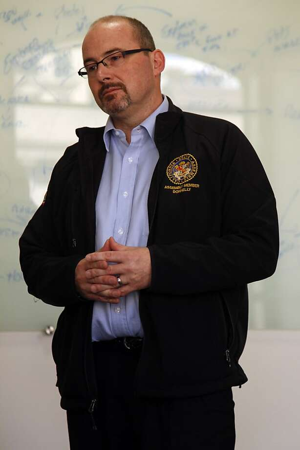 Assemblyman Tim Donnelly, R-Twin Peaks (San Bernardino County), says he sees hopeful signs. Photo: Liz Hafalia, The Chronicle