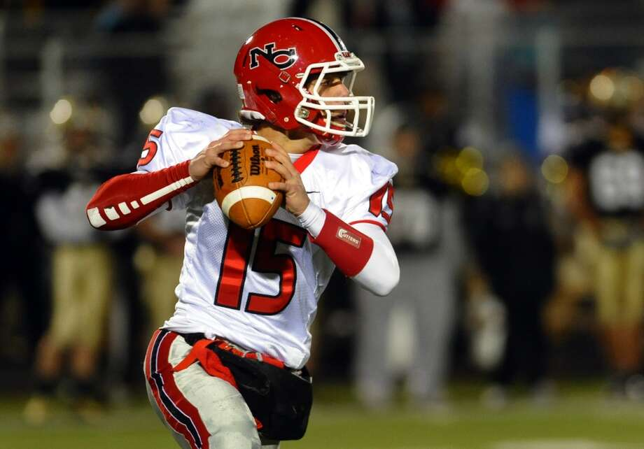 QB Nick Cascione, New Canaan Photo: Christian Abraham