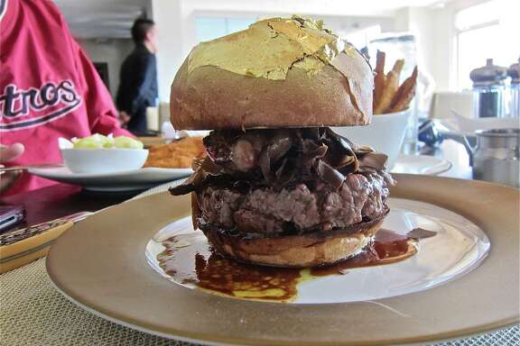 Ken Hoffman remained anonymous while sharing the $200 60° Bistro Burger with Chronicle restaurant critic Alison Cook at 60° Mastercrafted.