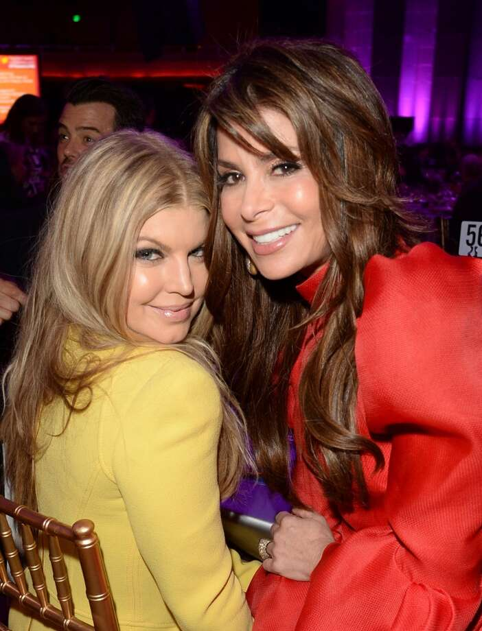 "Musician Fergie and Paula Abdul attend ""TrevorLIVE LA"" honoring Jane Lynch and Toyota for the Trevor Project at Hollywood Palladium on December 8, 2013 in Hollywood, California.  (Photo by Jason Merritt/Getty Images for Trevor Project) Photo: Jason Merritt, Getty Images For Trevor Project"