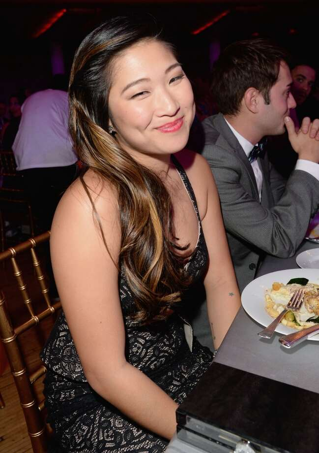 "Actress Jenna Ushkowitz attends ""TrevorLIVE LA"" honoring Jane Lynch and Toyota for the Trevor Project at Hollywood Palladium on December 8, 2013 in Hollywood, California.  (Photo by Jason Merritt/Getty Images for Trevor Project) Photo: Jason Merritt, Getty Images For Trevor Project"