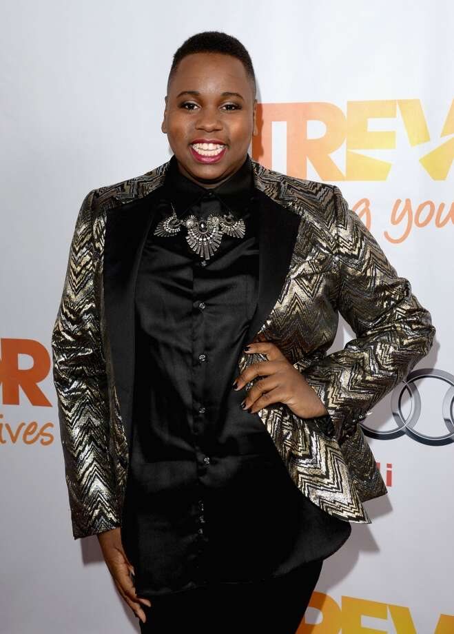 "Actor Alex Newell attends ""TrevorLIVE LA"" honoring Jane Lynch and Toyota for the Trevor Project at Hollywood Palladium on December 8, 2013 in Hollywood, California.  (Photo by Jason Merritt/Getty Images for Trevor Project) Photo: Jason Merritt, Getty Images For Trevor Project"