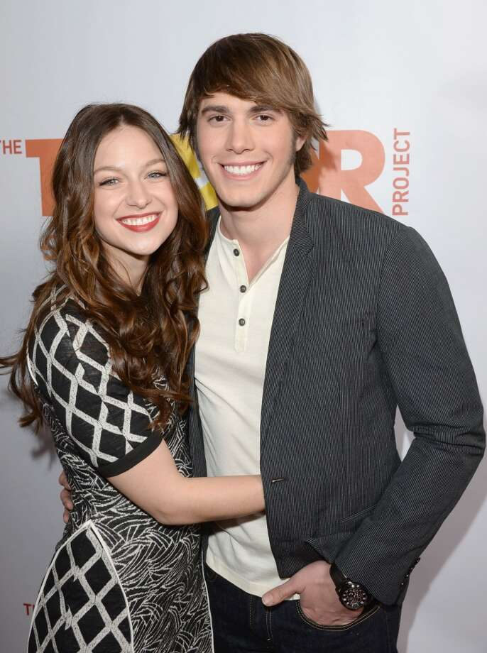 "Actors Melissa Benoist and Blake Jenner attend ""TrevorLIVE LA"" honoring Jane Lynch and Toyota for the Trevor Project at Hollywood Palladium on December 8, 2013 in Hollywood, California.  (Photo by Jason Merritt/Getty Images for Trevor Project) Photo: Jason Merritt, Getty Images For Trevor Project"