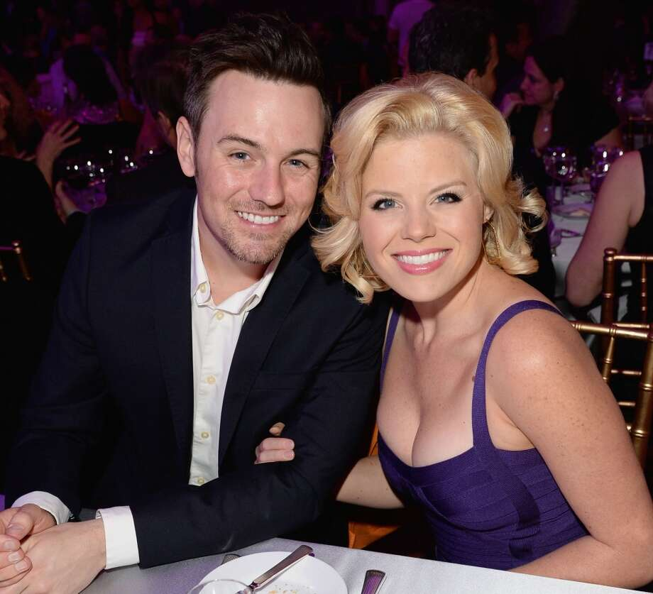 "Brian Gallagher  and actress Megan Hilty attend ""TrevorLIVE LA"" honoring Jane Lynch and Toyota for the Trevor Project at Hollywood Palladium on December 8, 2013 in Hollywood, California.  (Photo by Jason Merritt/Getty Images for Trevor Project) Photo: Jason Merritt, Getty Images For Trevor Project"