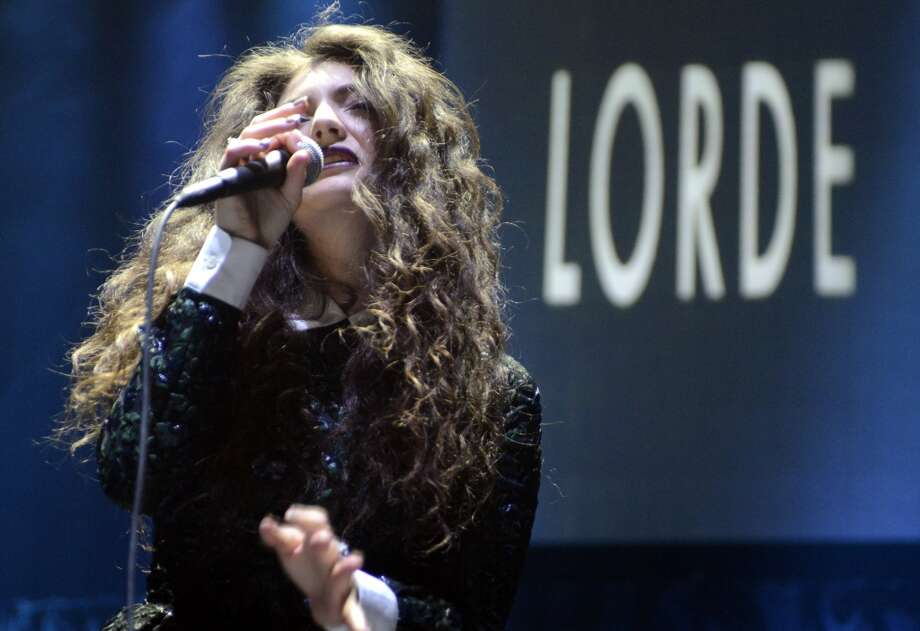 Lorde performs as part of Live 105's Not So Silent Night at Oracle Arena on December 7, 2013 in Oakland, California. (Photo by Tim Mosenfelder/Getty Images) Photo: Tim Mosenfelder, Getty Images