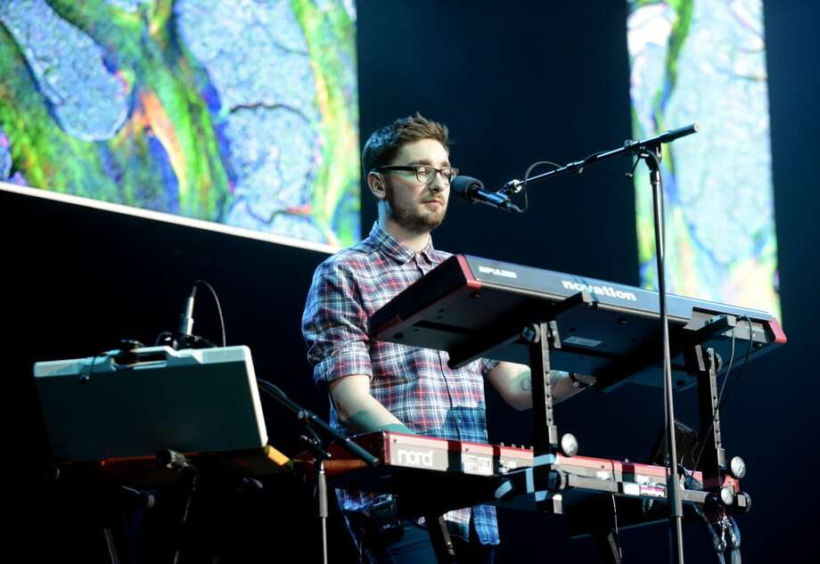 Gus Unger-Hamilton of Alt-J performs as part of Live 105's Not So Silent Night at Oracle Arena on December 7, 2013 in Oakland, California. (Photo by Tim Mosenfelder/Getty Images) Photo: Tim Mosenfelder, Getty Images