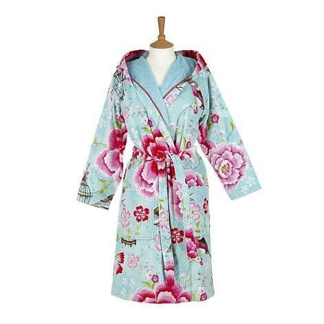 HIS & HERS: For her, a Pip Studio robe, $120, http://us.amara.com. Photo: Figleaves
