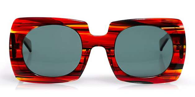 """HIS & HERS: Designed by glamour icon Iris Apfel, who at 92 describes herself as """"a geriatric starlet,"""" these oversize (reading) shades, $99, www.eyebobs.com, might be just the thing for a stylish someone who would never upgrade their cheaters from practical to POW! without a little push from you. Photo: Eyebobs"""