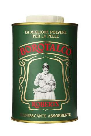 MEN'S: Manetti Roberts Borotalco, an all-natural, lightly scented talcum powder, $16, www.fellowbarber.com, keeps skin dry and sheets silky. Photo: Fellow Barber