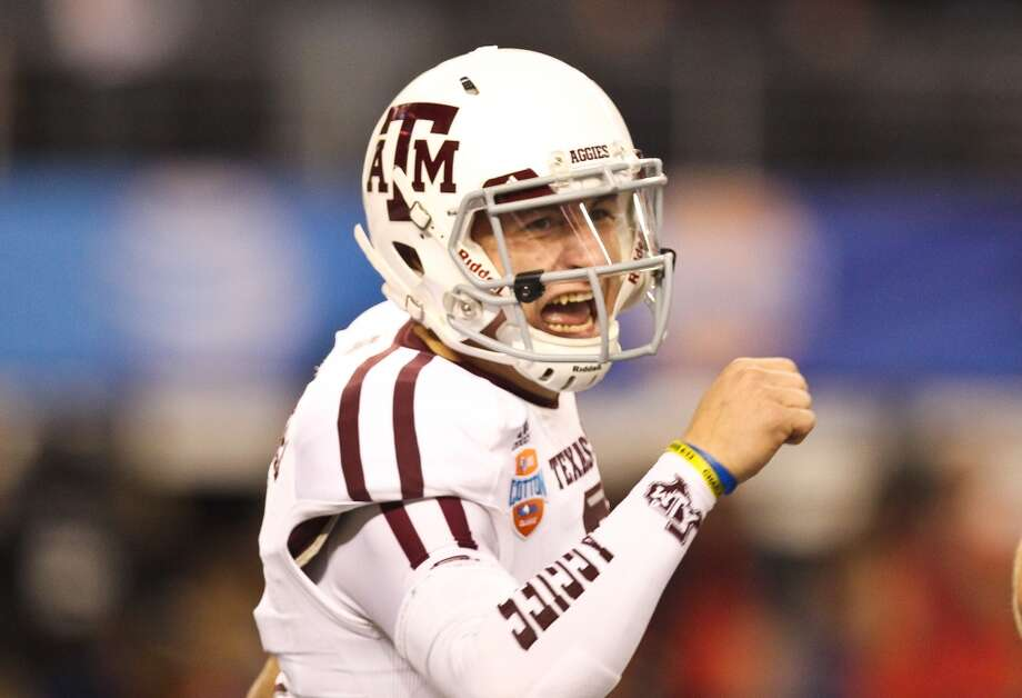 In becoming the first freshman to ever win the Heisman Trophy, A&M quarterback Johnny Manziel put up some big numbers during his first season in Aggieland. The signal-caller wasn't too bad in his sophomore campaign either. Here's a game-by-game look at his 2013 season. Photo: Nick De La Torre, Houston Chronicle
