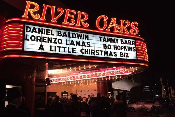 A glitzy movie premier at the River Oaks Theater brought out the stars.