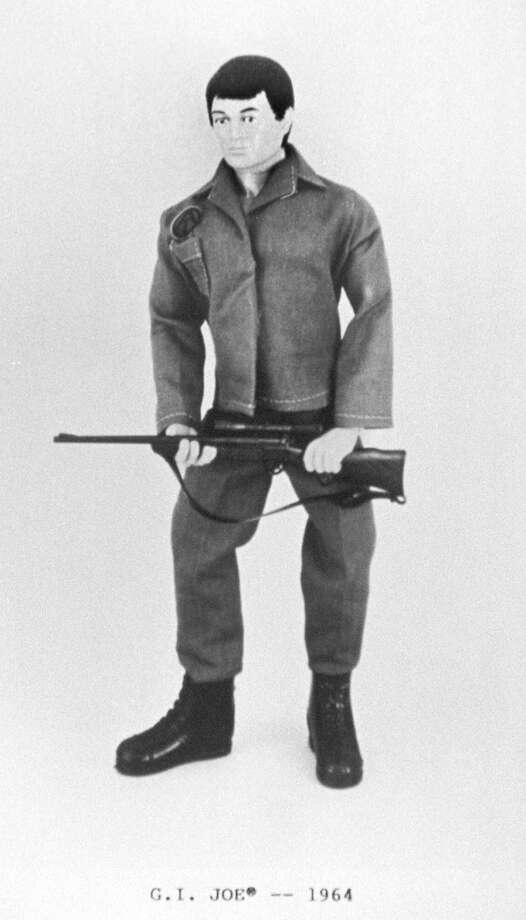 The original 1964 G.I. Joe action figure manufactured by the Hasbro, Inc., company. Photo: Anonymous, Associated Press / AP1964