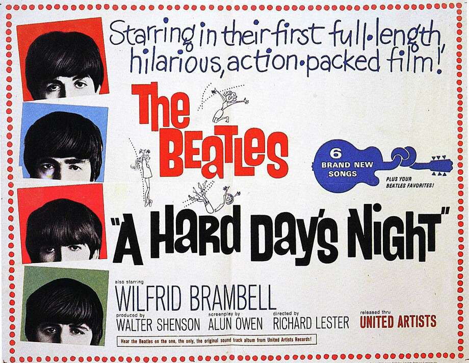 "1964 continued to be the year of The Beatles with the release of ""A Hard Day's Night"" — the movie and the album — in July. Photo: GAB Archive, Getty Images / Redferns"
