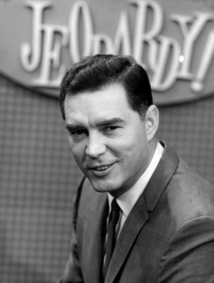"Art Fleming was the host of ""Jeopardy!"" when it was first introduced in 1964. Photo: NBC, Getty Images / © NBC Universal, Inc."