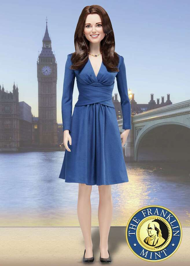"In this handout illustration provided by The Franklin Mint, The Franklin Mint's limited edition commemorative Kate Middleton ""Portrait of a Princess"" doll is seen. The Franklin Mint also produces collectible plates and coins. Photo: Handout, Getty Images / 2011 The Franklin Mint"