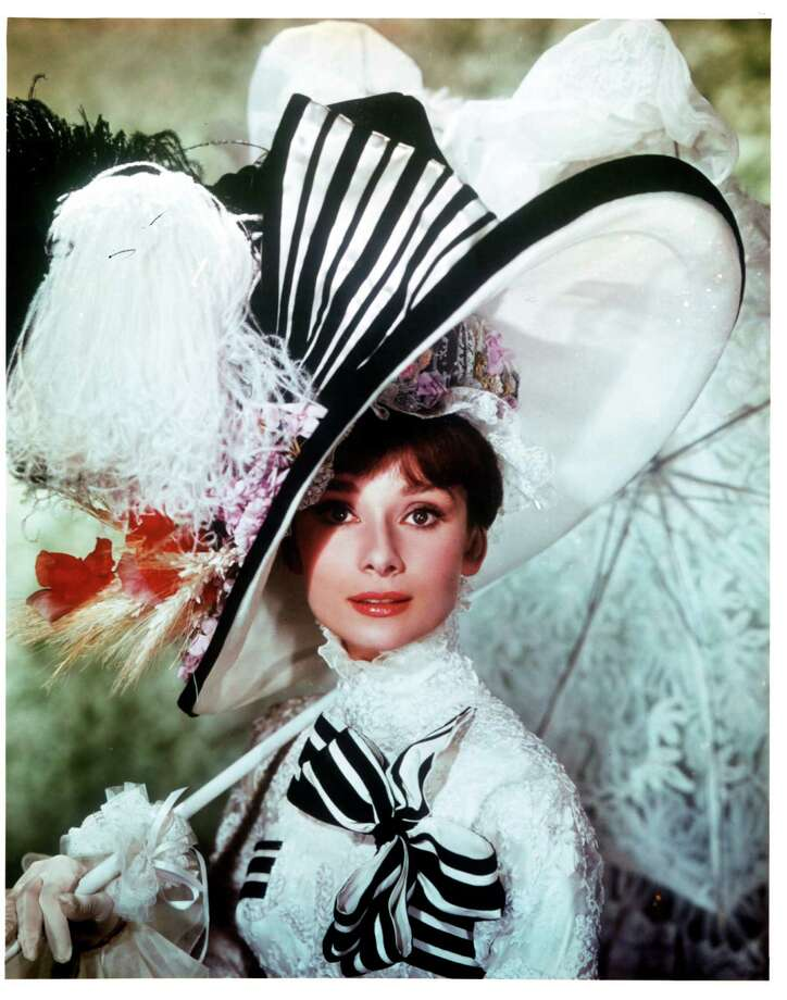 "Audrey Hepburn in publicity portrait for the film ""My Fair Lady,"" 1964. Photo: Archive Photos, Getty Images / 2012 Getty Images"
