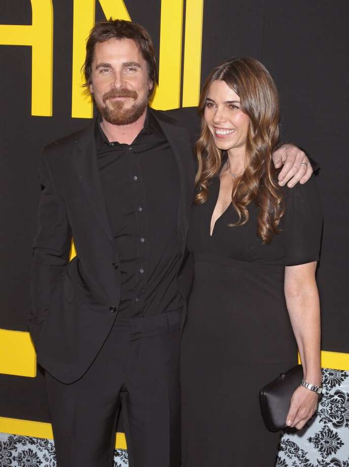 "Actor Christian Bale and wife Sibi Blazic attend the ""American Hustle"" screening at Ziegfeld Theater on December 8, 2013 in New York City.  (Photo by Jim Spellman/WireImage) Photo: Jim Spellman, WireImage"