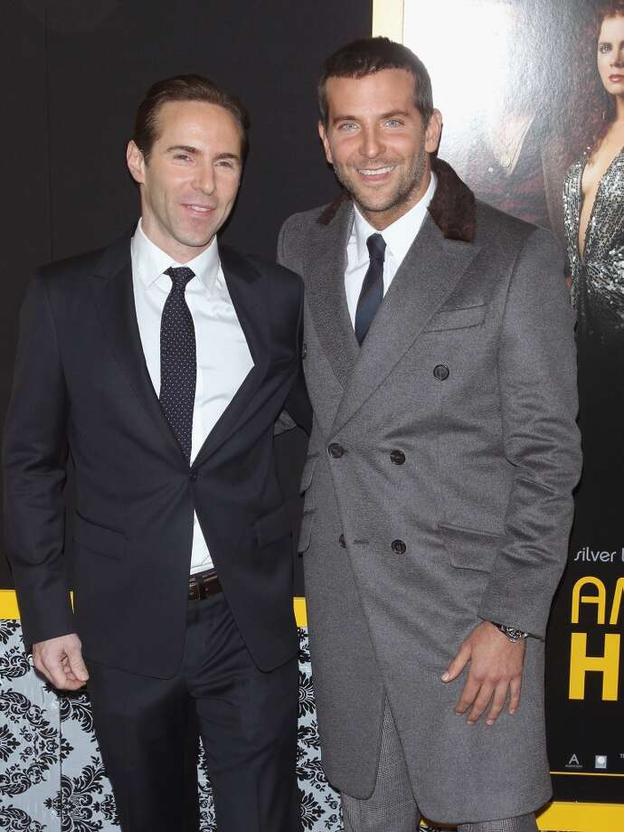 "Actors Alessandro Nivola and Bradley Cooper attend the ""American Hustle"" screening at Ziegfeld Theater on December 8, 2013 in New York City.  (Photo by Jim Spellman/WireImage) Photo: Jim Spellman, WireImage"