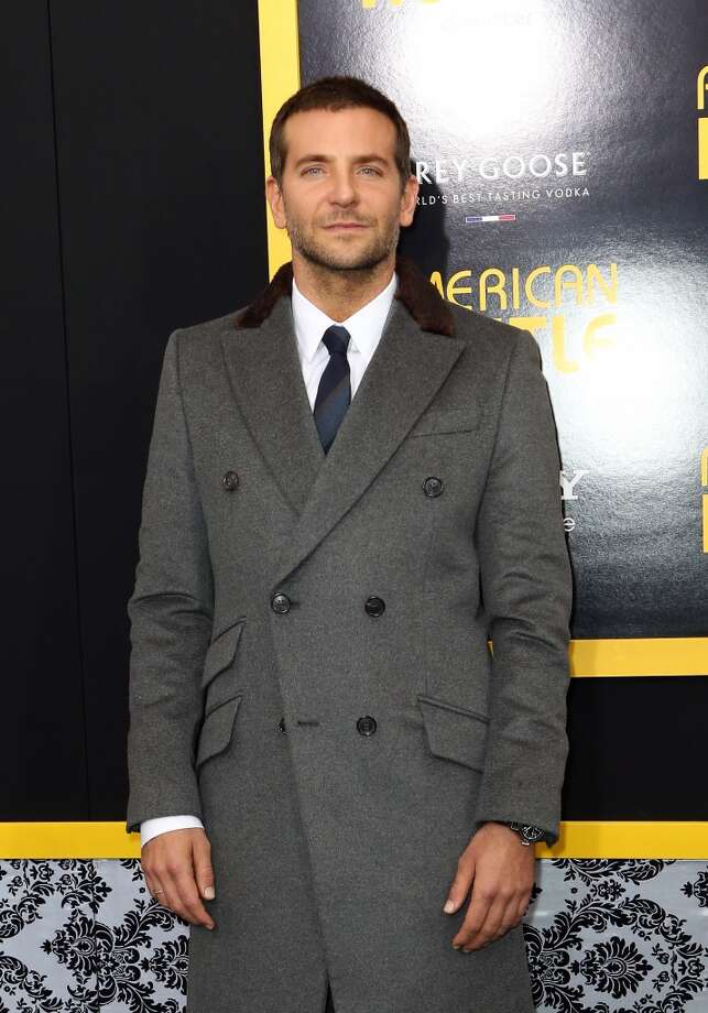 "Actor Bradley Cooper attends Grey Goose Vodka and Vanity Fair present in part the world premiere of Columbia Pictures and Annapurna Pictures ""American Hustle"" at Ziegfeld Theater on December 8, 2013 in New York City.  (Photo by Monica Schipper/Getty Images for Grey Goose) Photo: Monica Schipper, Getty Images For Grey Goose"