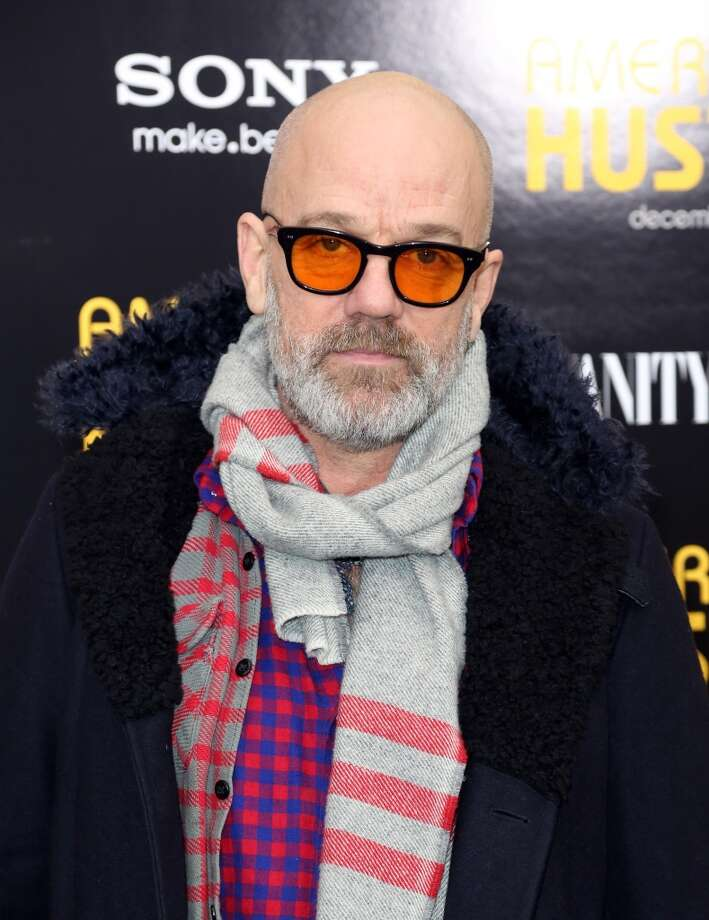 """Michael Stipe attends Grey Goose Vodka and Vanity Fair present in part the world premiere of Columbia Pictures And Annapurna Pictures """"American Hustle"""" at Ziegfeld Theater on December 8, 2013 in New York City.  (Photo by Monica Schipper/Getty Images for Grey Goose) Photo: Monica Schipper, Getty Images For Grey Goose"""