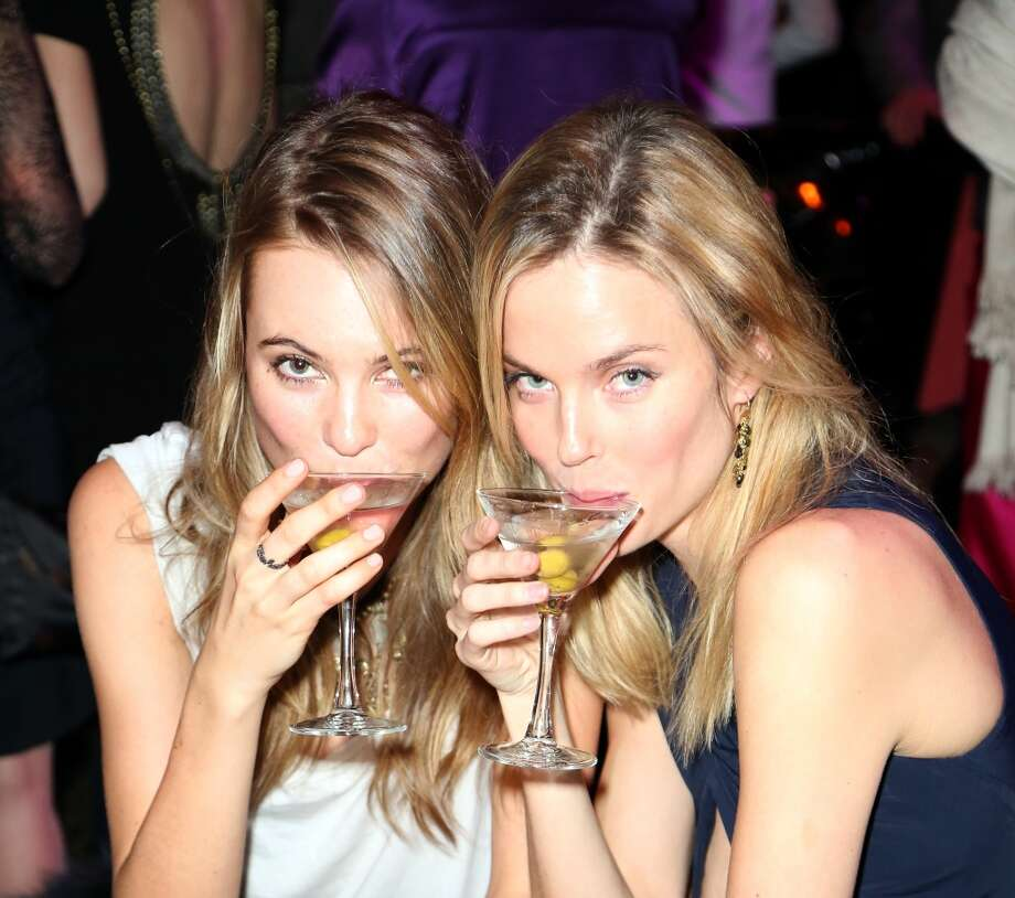 "Behati Prinsloo (L) and Shannon Click attend the after party for Grey Goose Vodka and Vanity Fair present in part the world premiere of Columbia Pictures And Annapurna Pictures ""American Hustle"" at Cipriani  on December 8, 2013 in New York City.  (Photo by Monica Schipper/Getty Images for Grey Goose) Photo: Monica Schipper, Getty Images For Grey Goose"