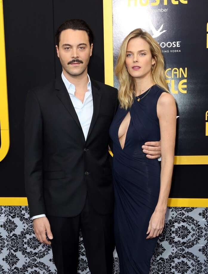 "Jack Huston (L) and Shannan Click attend Grey Goose Vodka and Vanity Fair present in part the world premiere of Columbia Pictures And Annapurna Pictures ""American Hustle"" at Ziegfeld Theater on December 8, 2013 in New York City.  (Photo by Monica Schipper/Getty Images for Grey Goose) Photo: Monica Schipper, Getty Images For Grey Goose"