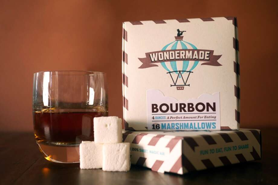 "Wondermade bourbon marshmallows, $7.95. After making a batch of marshmallows as a gift for his wife, Nathan Clark realized how delicious a home-made 'mallow can be.  ""That's not because we were candy-making prodigies,"" Clark said on his website. ""A quick glance at the ingredients on store-bought marshmallows helped us realize that we'd just grown up with low-quality candy."" Nathan and Jenn's Wondermade marshmallows are made with cane sugar and legit ingredients like real pumpkin, Guinness and pure Penzey's vanilla extract. Each box comes with 16 one-inch beauties (in flavors like sugar cookie, chai and pumpkin pie) made with love and packaged adorably.  The peppermint marshmallows would be a beautiful addition to a hot cup of cocoa — and the bourbon 'mallows would be a beautiful addition to my stocking. Bring it, Santa.  Buy it: wondermade.com Photo: Provided By The Manufacturer, Courtesy"