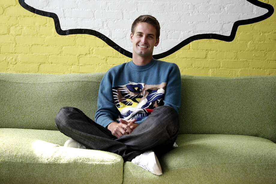 Snapchat CEO Evan Spiegel  Photo: Jae C. Hong, Associated Press